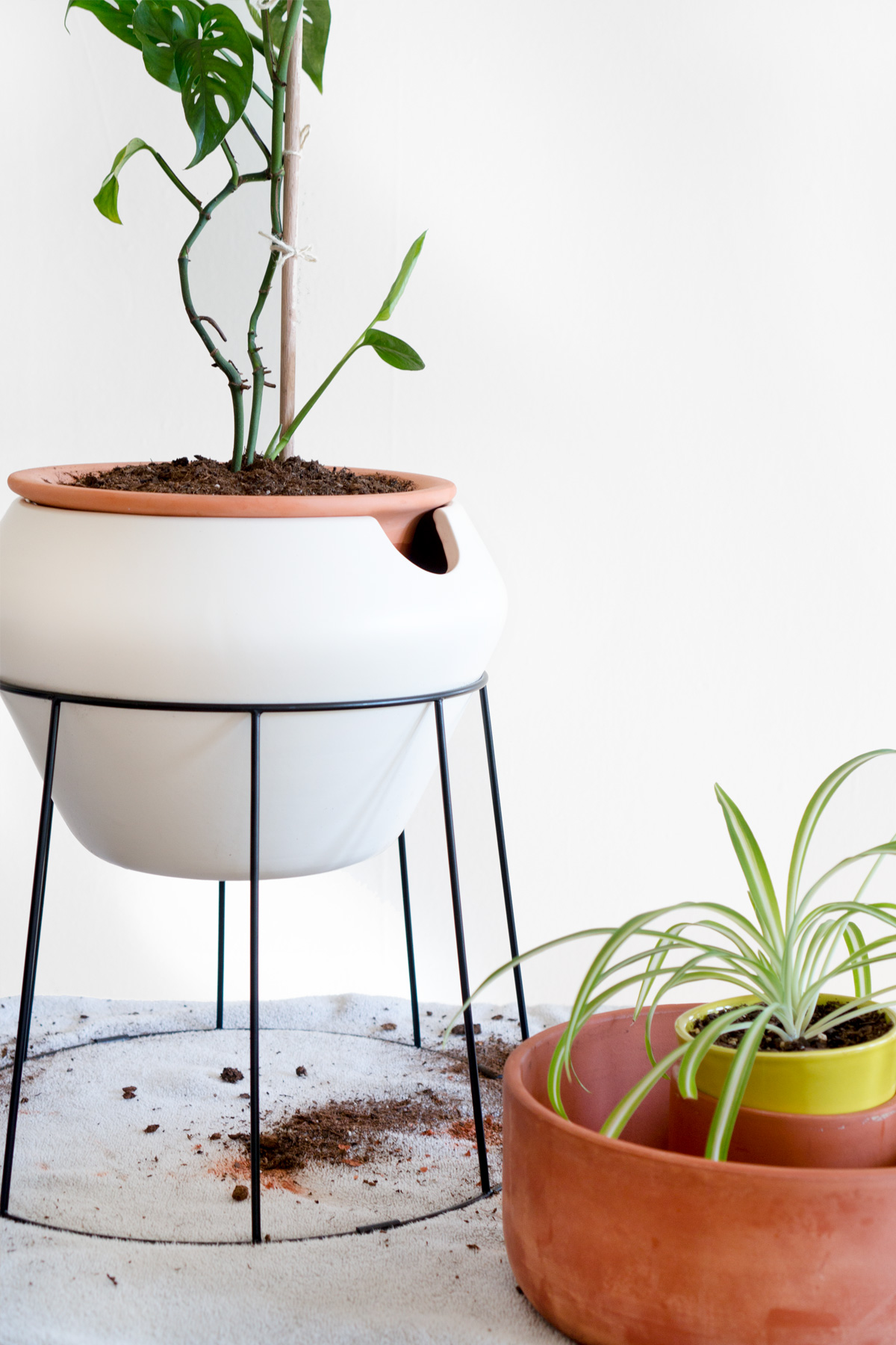 holey moly how to add drainage holes to all your pots ctrl curate. Black Bedroom Furniture Sets. Home Design Ideas