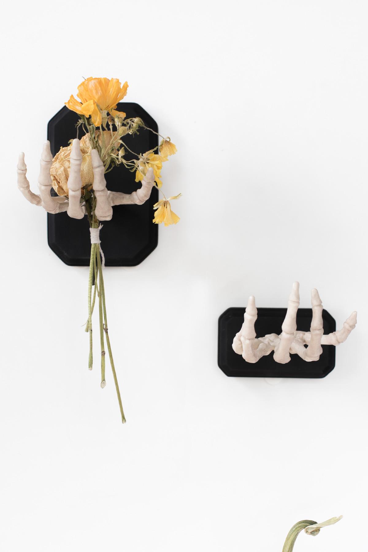 Diy Halloween Skeleton Hand Wall Decor Ctrl Curate